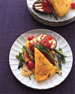 polenta-red pepper